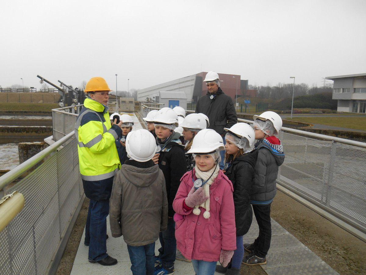 CE2: visite de la station d'épuration