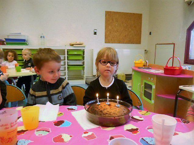 Jeux et cuisine pour l'anniversaire de Manon