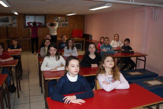 CLASSE DE NEIGE LUNDI 29 FEV