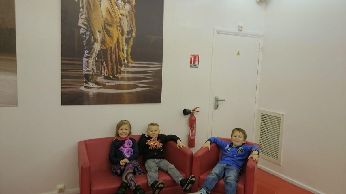 CP  et CE1 : sortie au théâtre d Arras