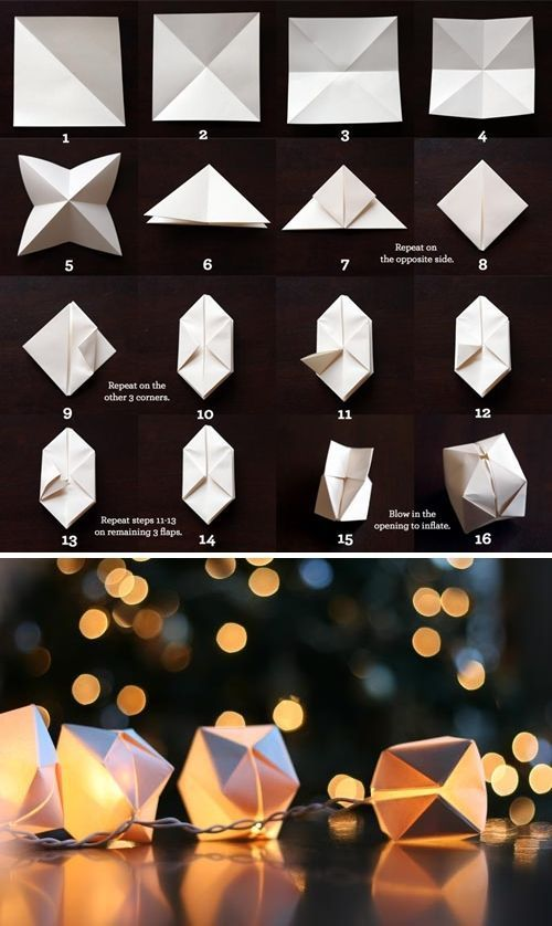 http://witandwhistle.com/2010/12/17/diy-paper-cube-string-lights/
