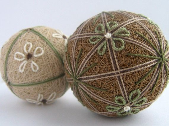 https://www.etsy.com/listing/66857450/wheat-duet-hand-embroidered-thread-balls