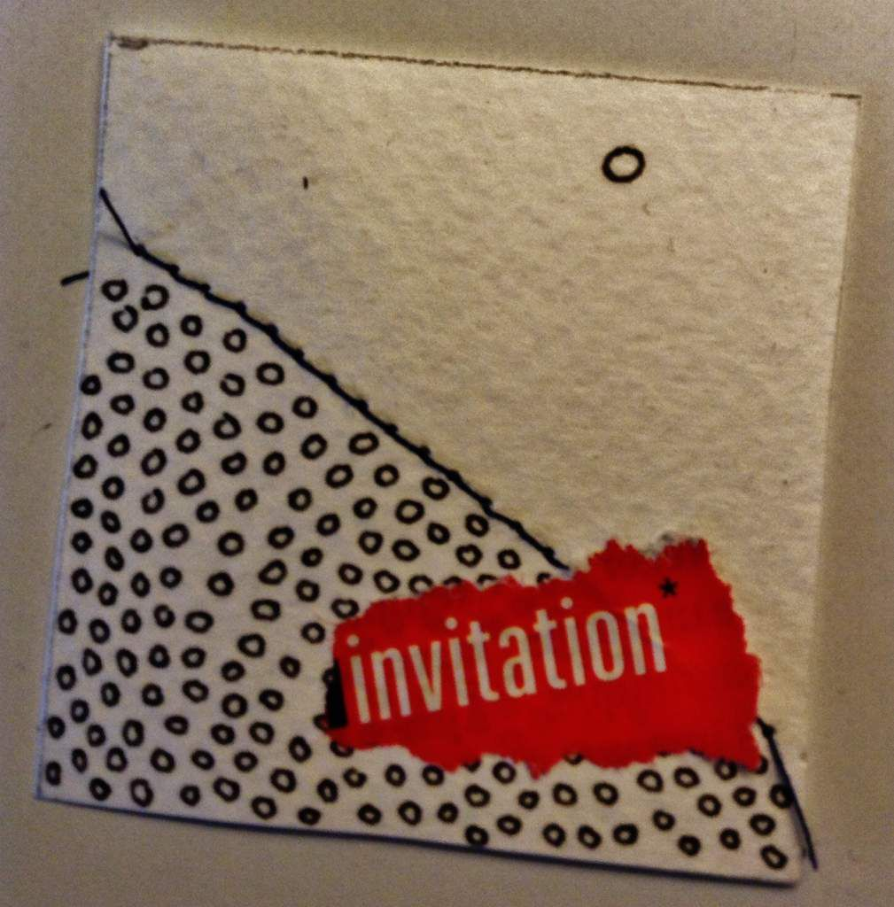 """Mai 2016   Babou    """"invitation"""""""