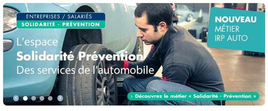 La CFE-CGC vous fait découvrir VOTRE NOUVEL ESPACE « PRÉVENTION » d' IRP AUTO