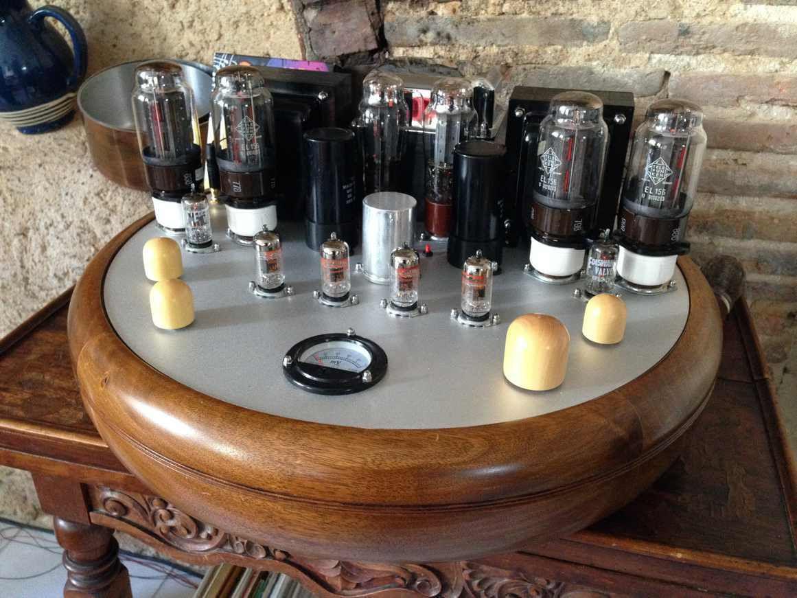 UFO EL156 tubes originaux Telefunken (Production années 1970)
