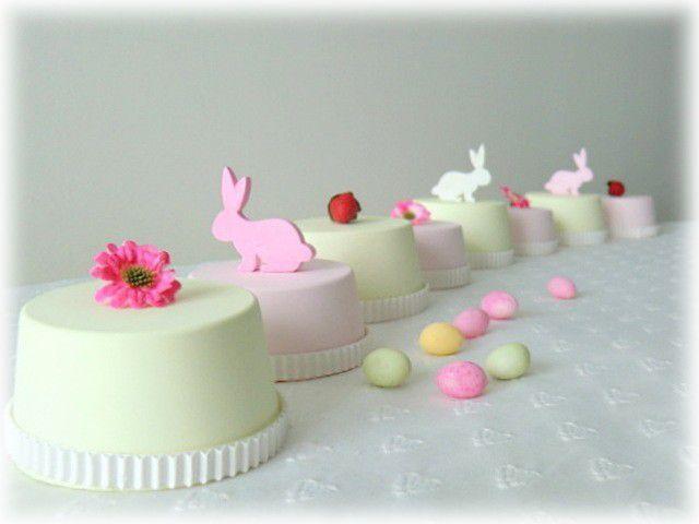 Quelques idées en vrac pour vos tables de Pâques ...