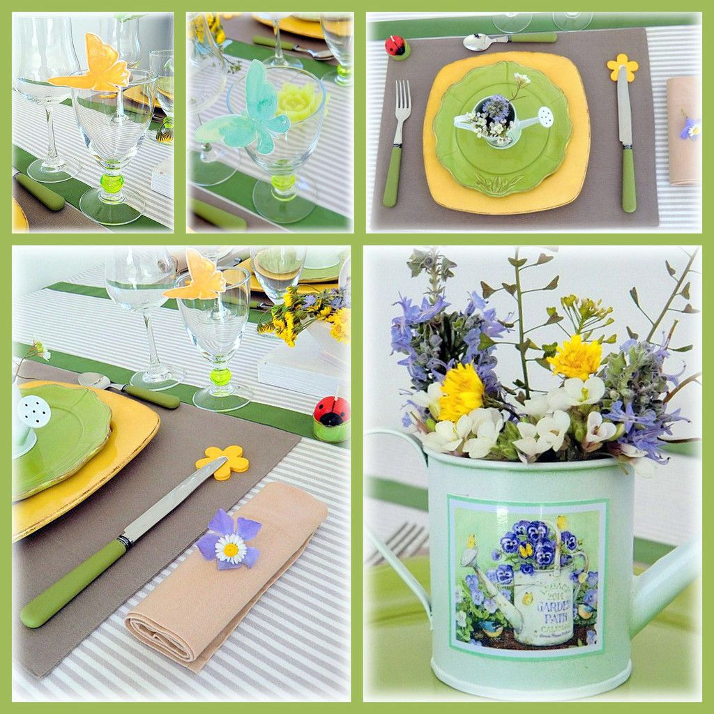 Petite table de printemps ...