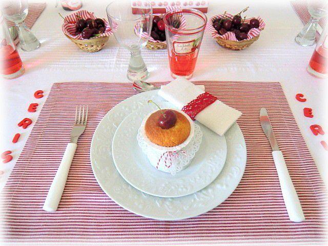La table : La cerise sur le gâteau !