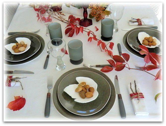 Une nouvelle table d'automne