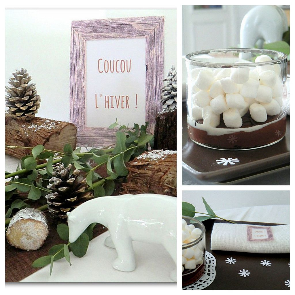 Table : Coucou l'hiver !