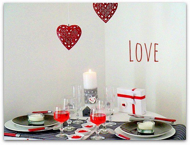 Une table pour la Saint Valentin !