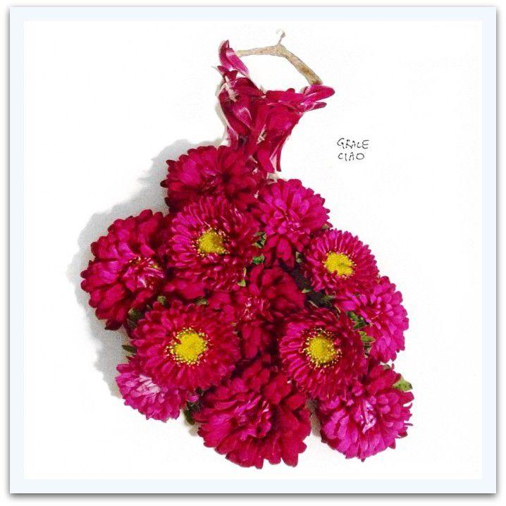 Les fleurs et la femme ...