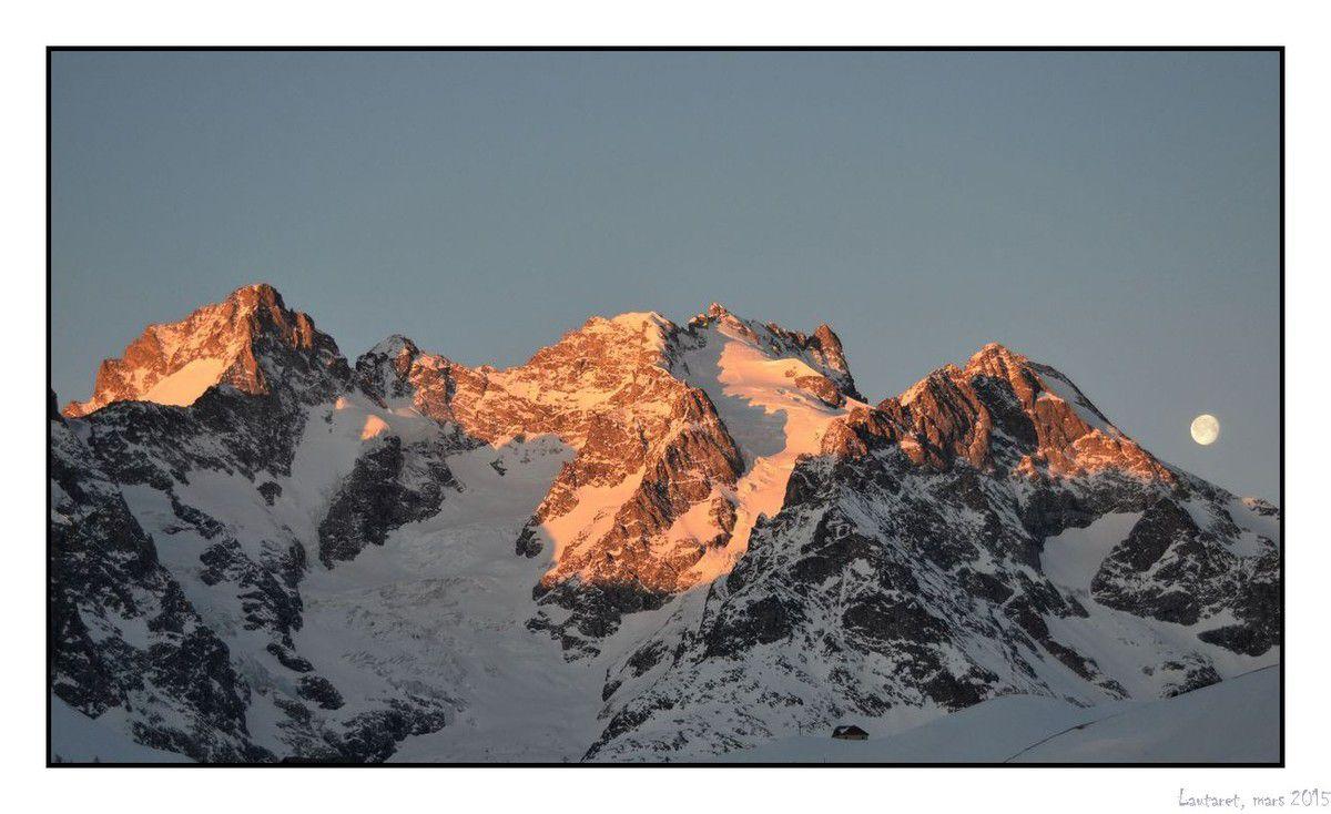 Ski de randonnée du côté du Lautaret - le Grand Galibier par le col de la Ponsonnière et le Col des Jumelles Sud par le Vallon du Fontenil