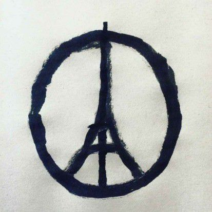 Peace for Paris (par Jean Jullien)
