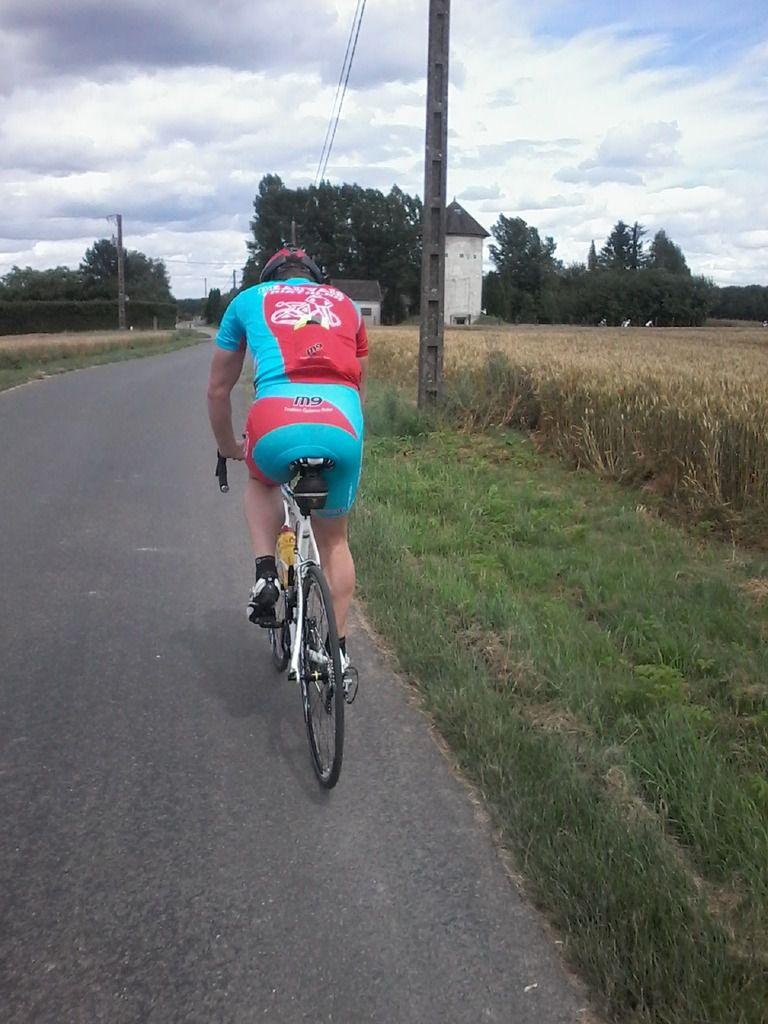 Beauvais Triathlon jusqu'au grand Palteau
