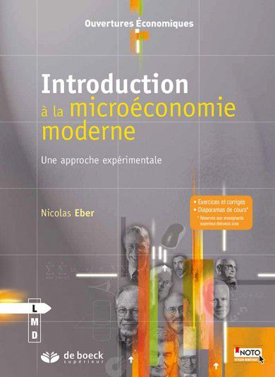 « Introduction à la Microéconomie » de  Nicolas EBER