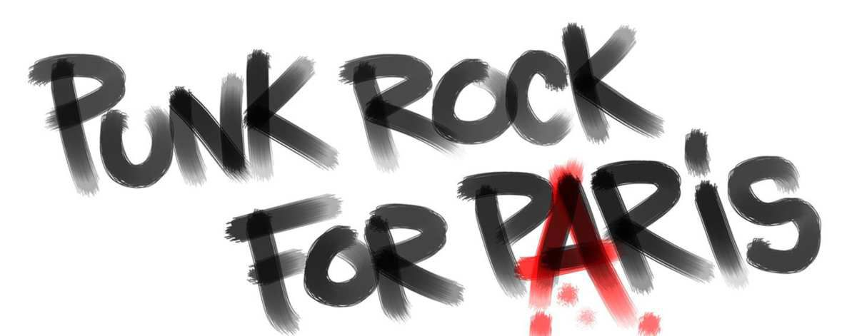 Punk Rock For Paris : Concerts en live ce soir sur youtube‏