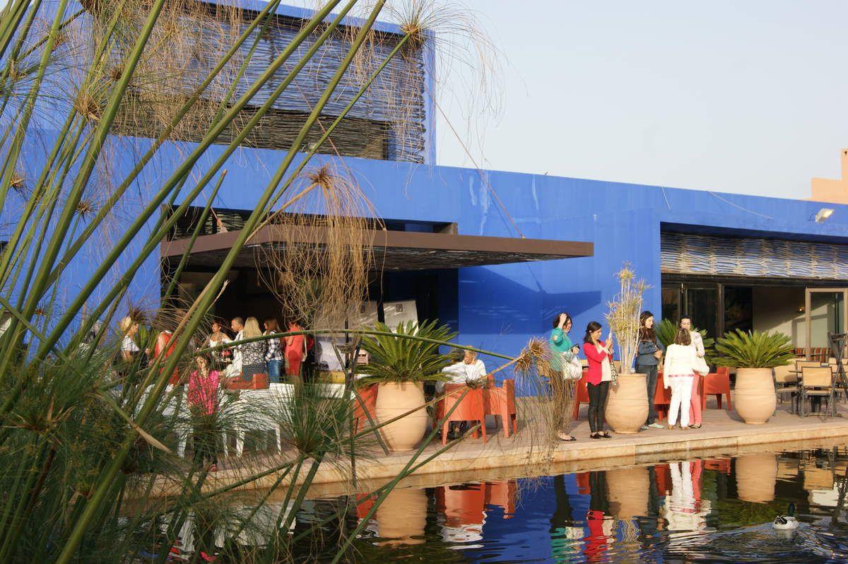 Exposition au sein du restaurant « Medina» de l'hôtel Al Maaden « Villa Hôtel and Spa » de Marrakech des œuvres de l'artiste Jebrane en association avec la galerie Design and Co.