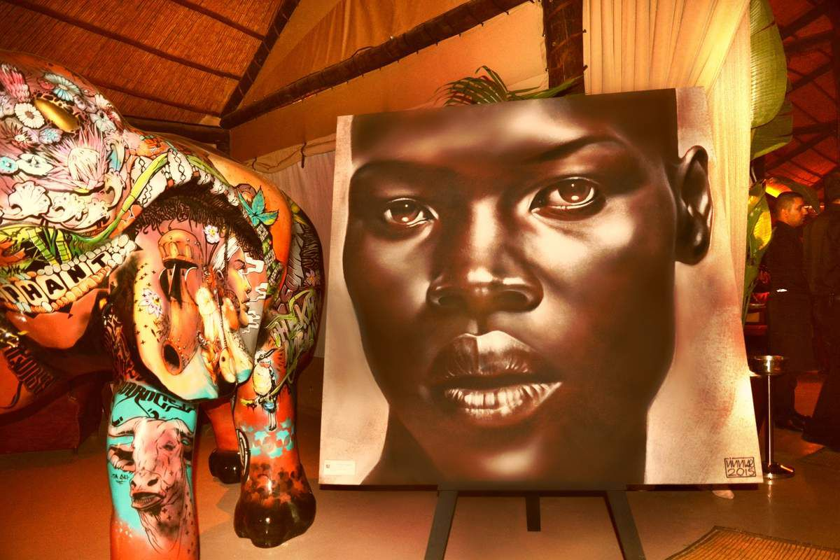 Vernissage - Philippe Vignal « Eyes of Africa » Design and Co