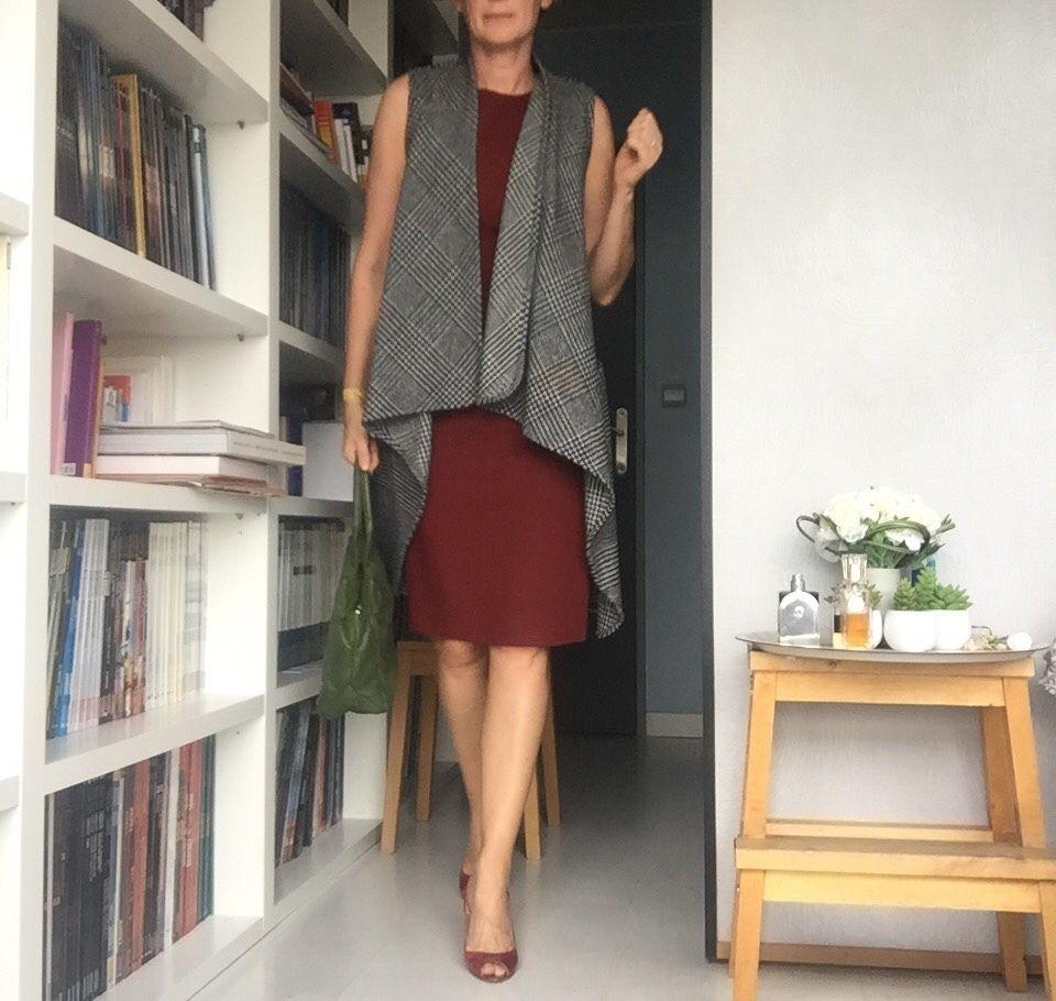 Sac : Paule Ka ~ robe/veste : NewLook - chaussures : Sergio Rossi