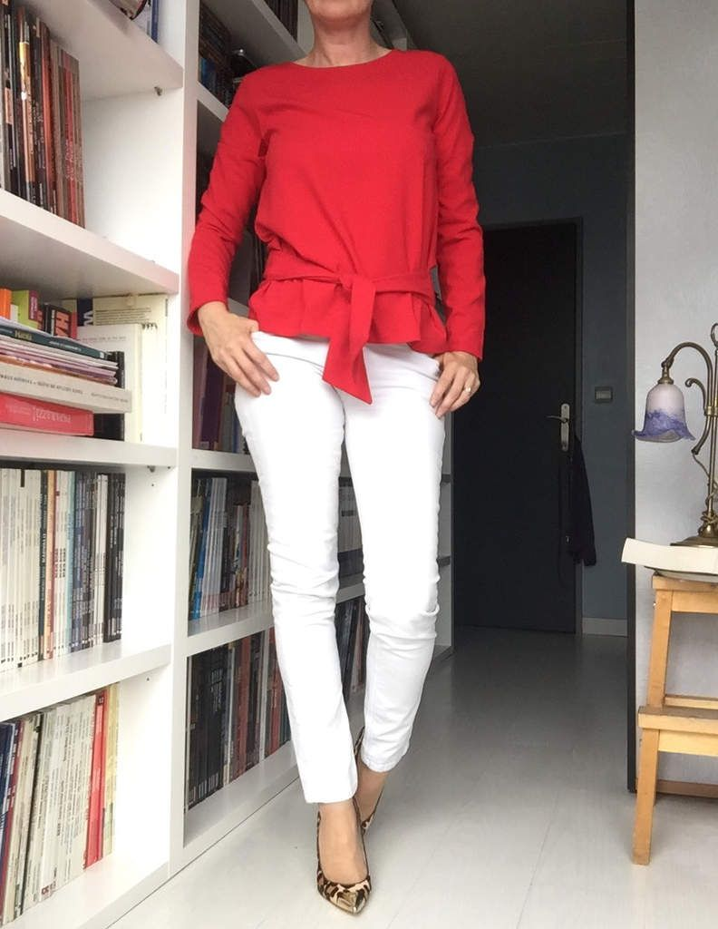 Top : Une souris dans mon dressing (Adèle) - chaussures : Mickael Kors