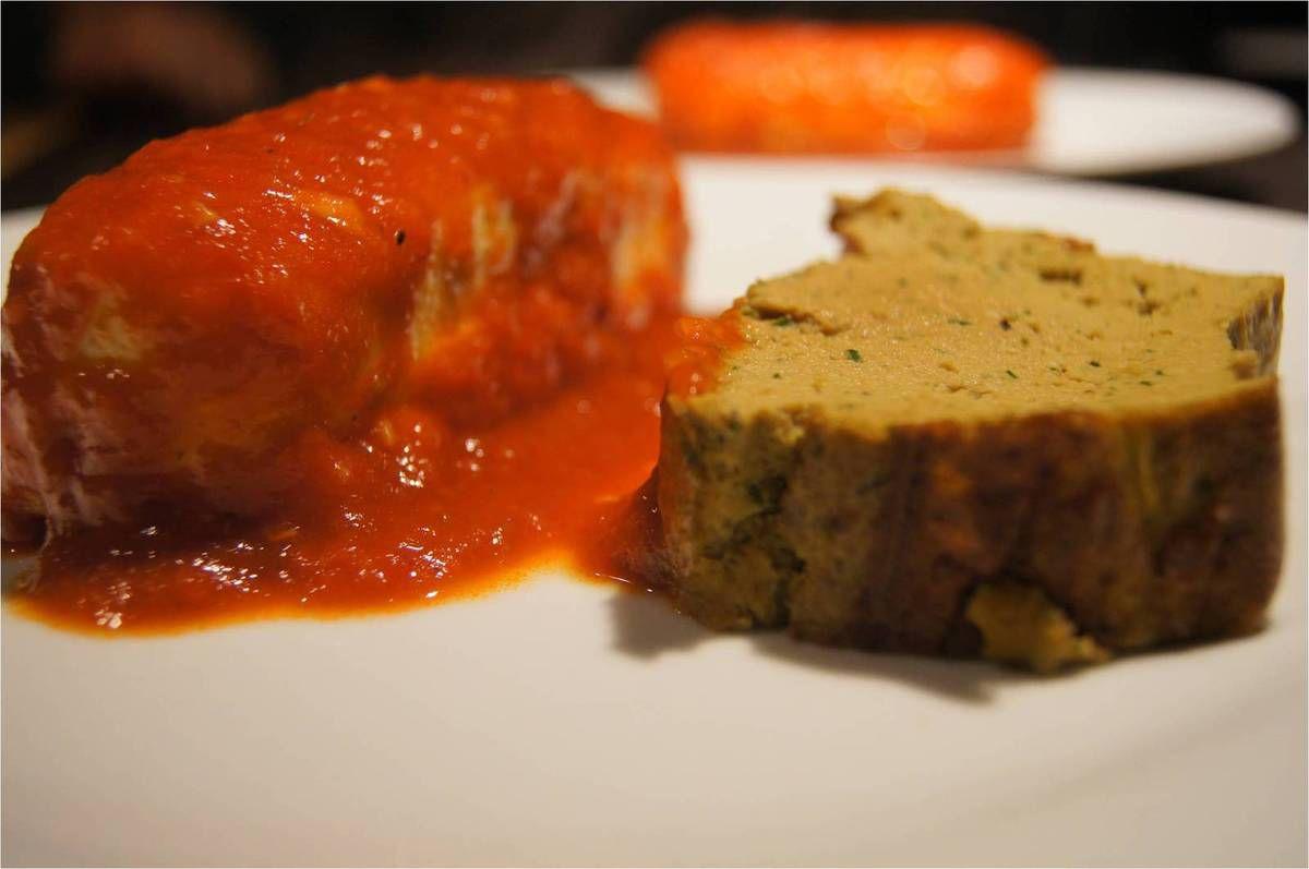 Gâteau de foie et ses quenelles de Lyon
