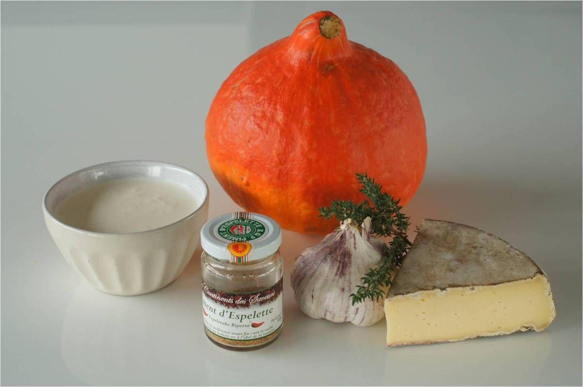 Soupe de potimarron à la tome des Bauges