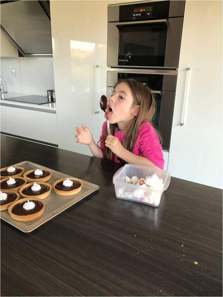 Atelier tartelettes au chocolat avec Anaïs