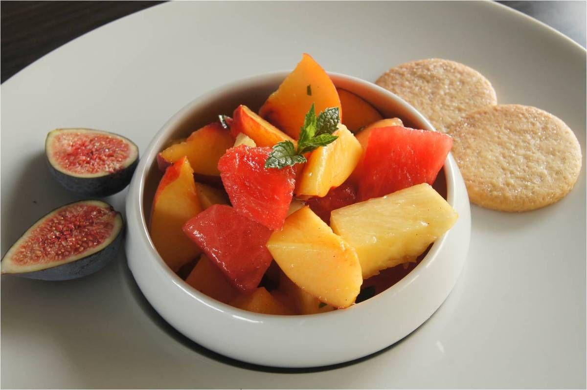 Une salade de fruits frais pour Michèle