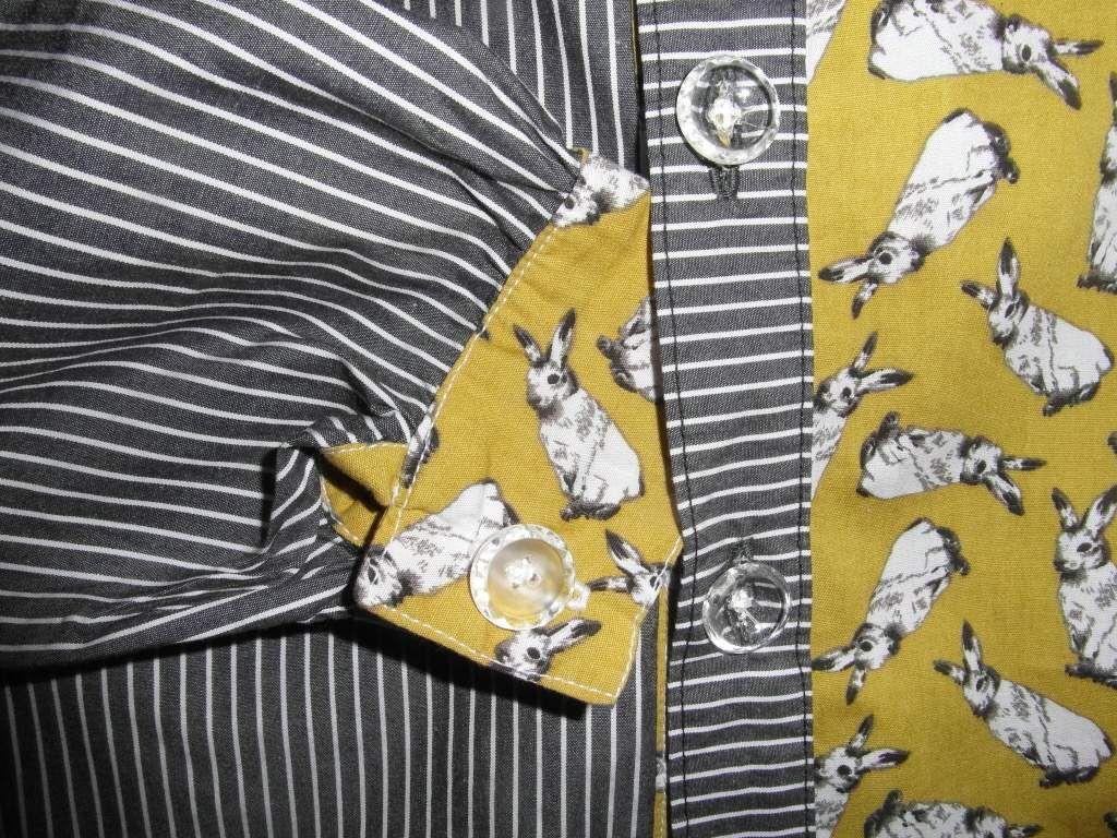 chemise garçon avec lapins