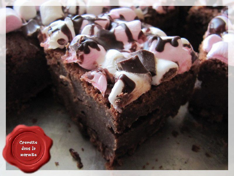 Brownie Rocky Road Cake