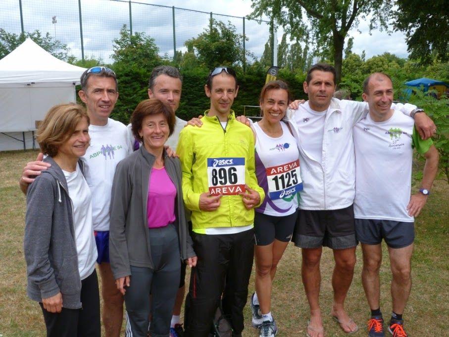 Source photo Nicolas KC (4 coureurs manquants sur la photo)