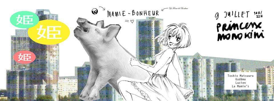 MAMIE-BONHEUR #1   &quot&#x3B;Princesse Monokini&quot&#x3B;