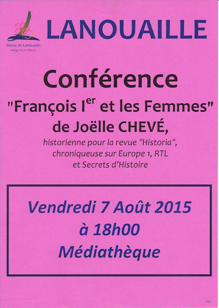 Conférence de Joëlle Chevé