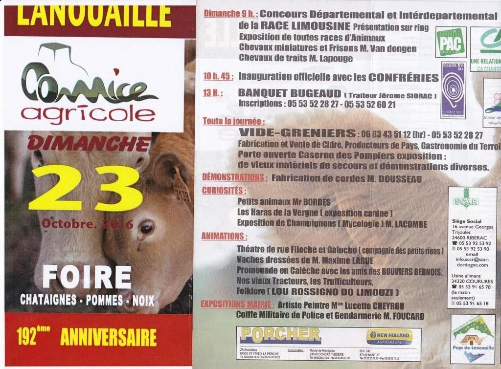 Comice agricole...version 192ème