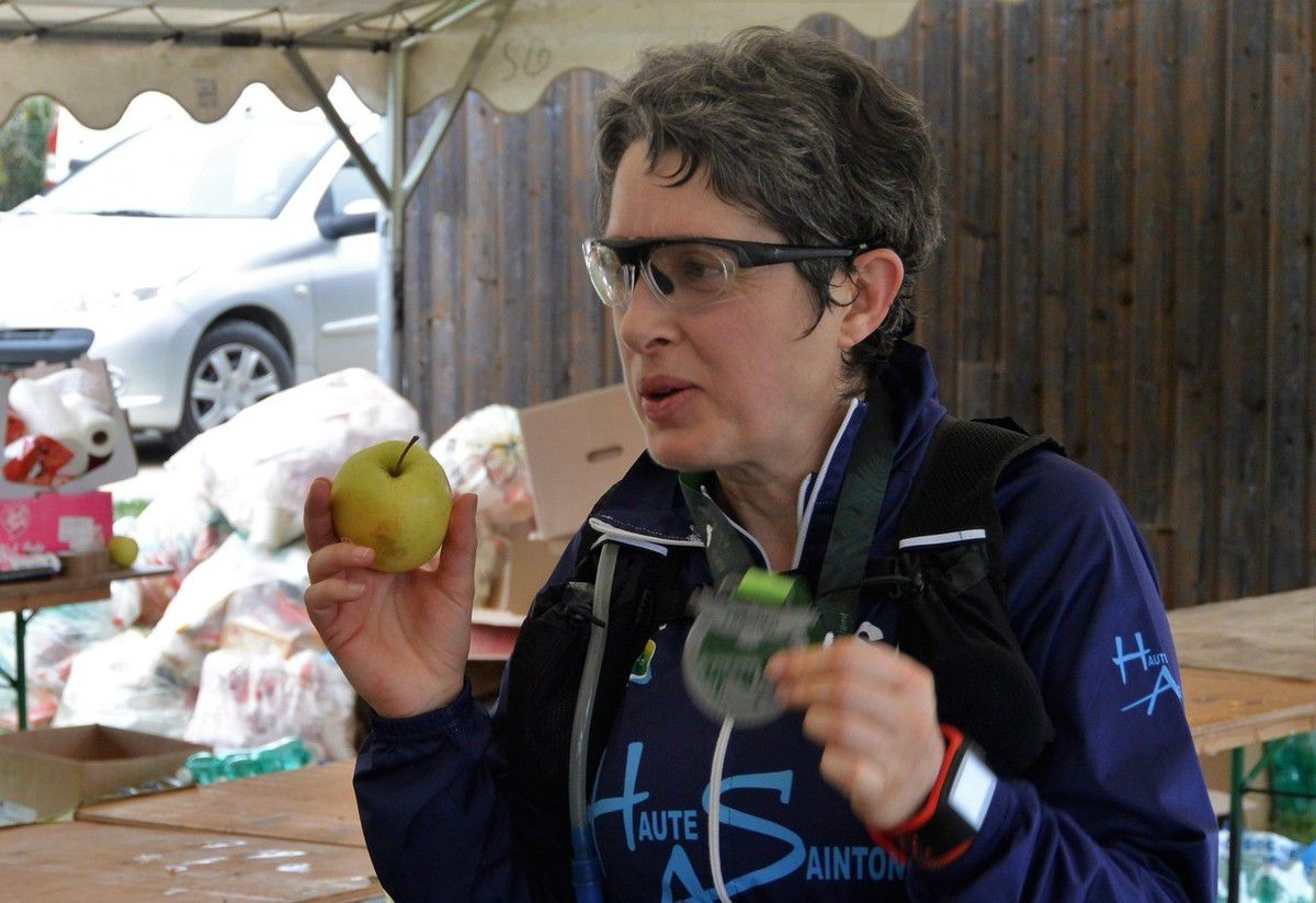 Une pomme du Limousin pour les sportifs