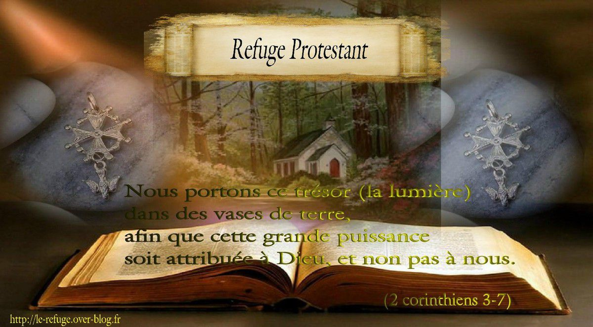 Versets et citations Refuge Protestant
