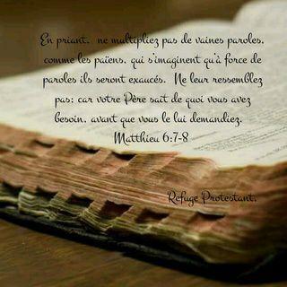 Versets et citations Refuge Protestant