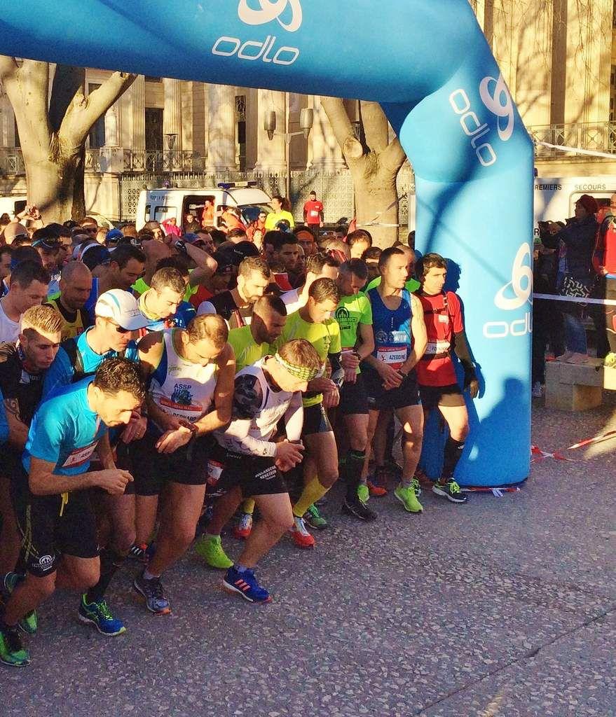 DEPART DU 25 KM avec un Franck PHILIBERT motivé !