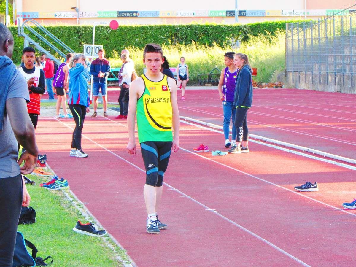 Bryan longueur et 100 m
