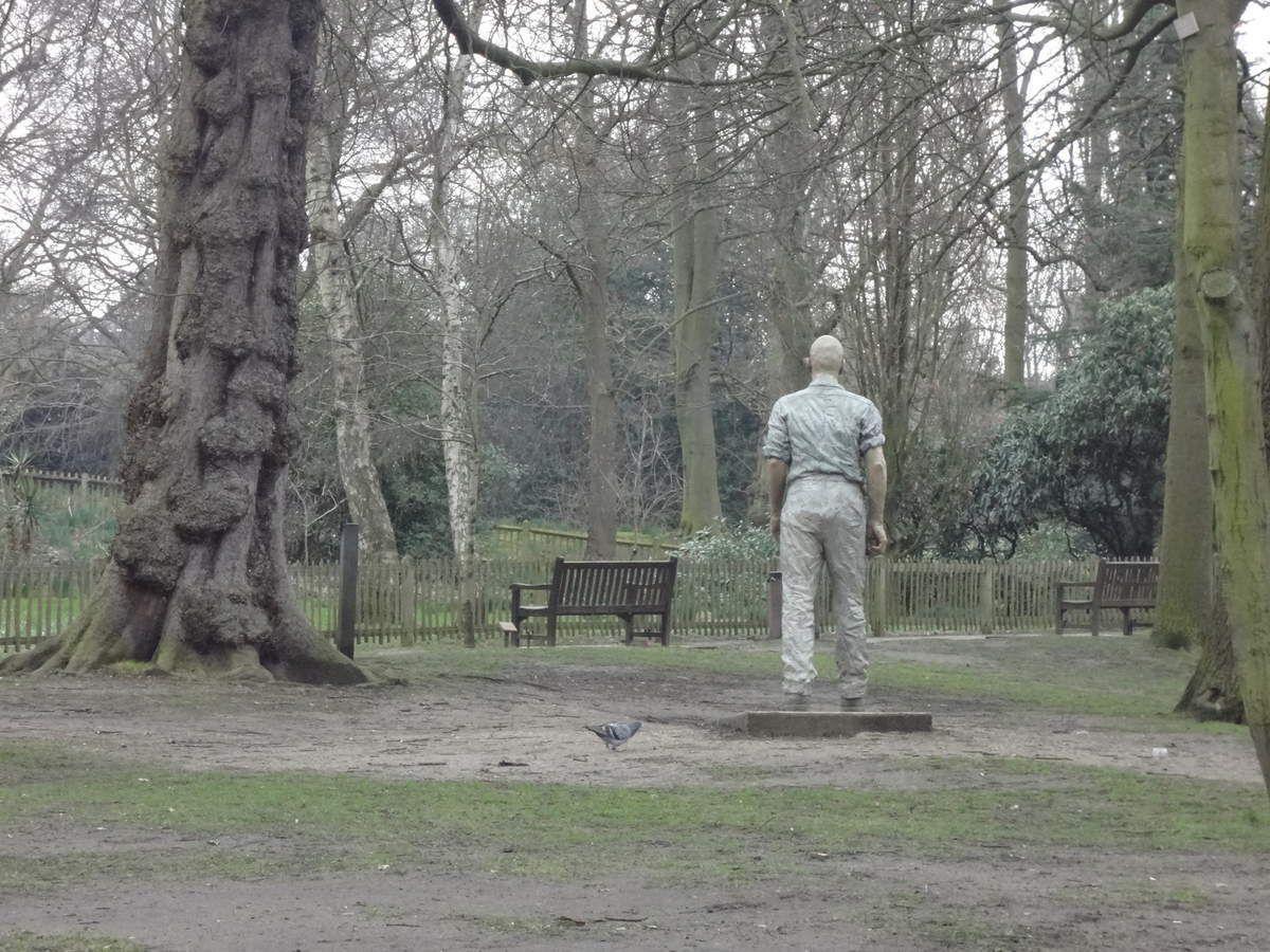L'uomo che cammina nel parco, ovvero the Walking Man