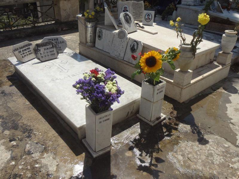 Ciao, Tatà! (Visita al cimitero di sant'Orsola nel giorno del Trigesimo).