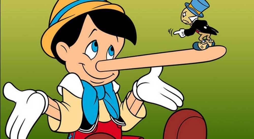 Pinocchio e le bugie, ma al contrario: Non dire le bugie, Babbo!