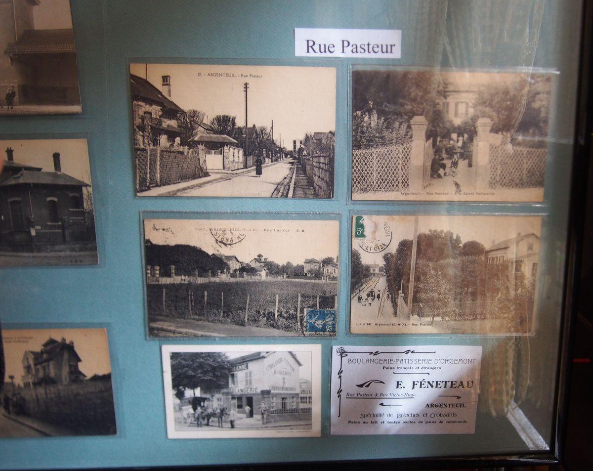 expo de cartes postales anciennes d'Argenteuil (collectionneur Alain Henry)