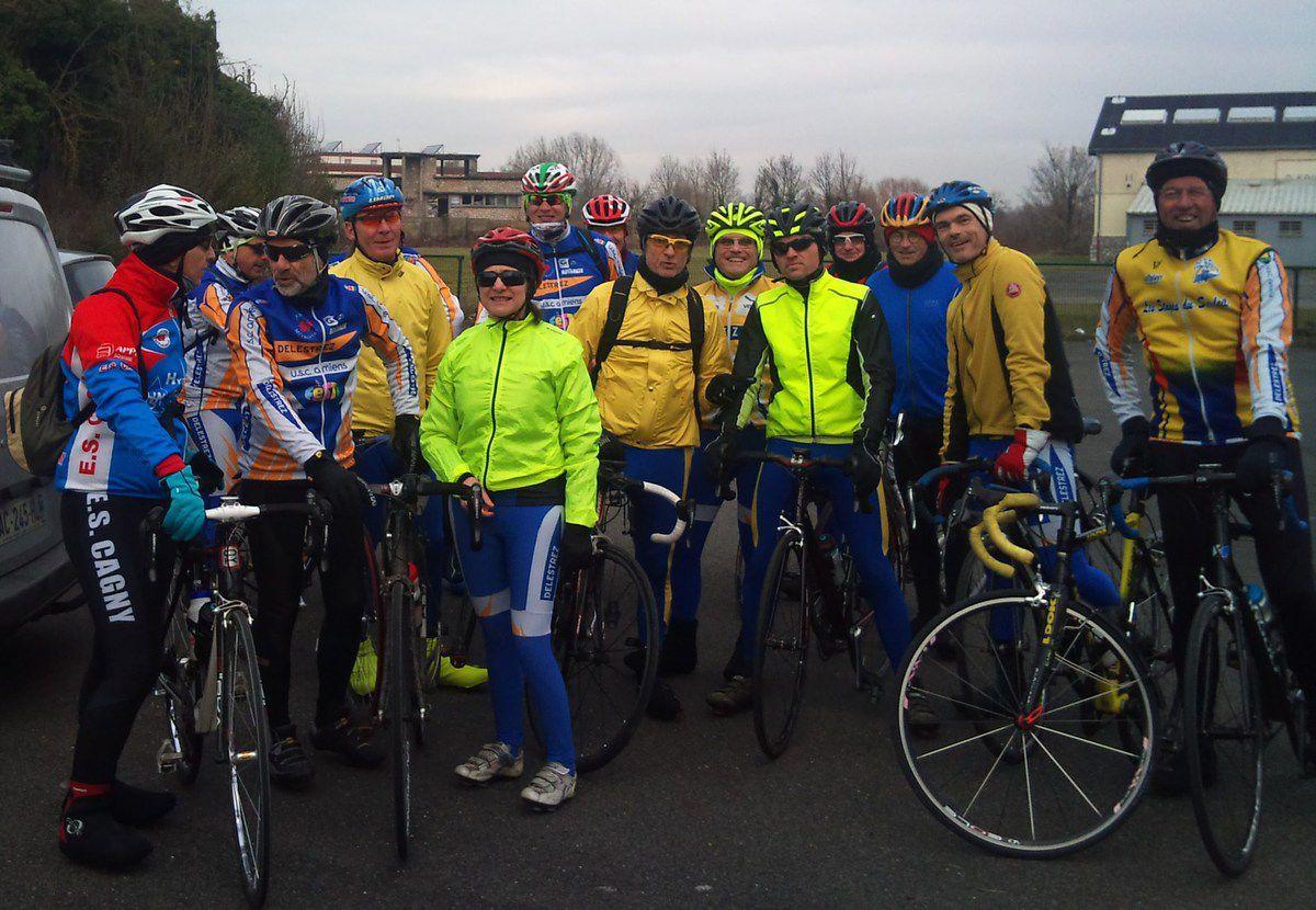 14 février 2017, Préliminaire : Amiens/Chaulnes/Amiens : 125 km