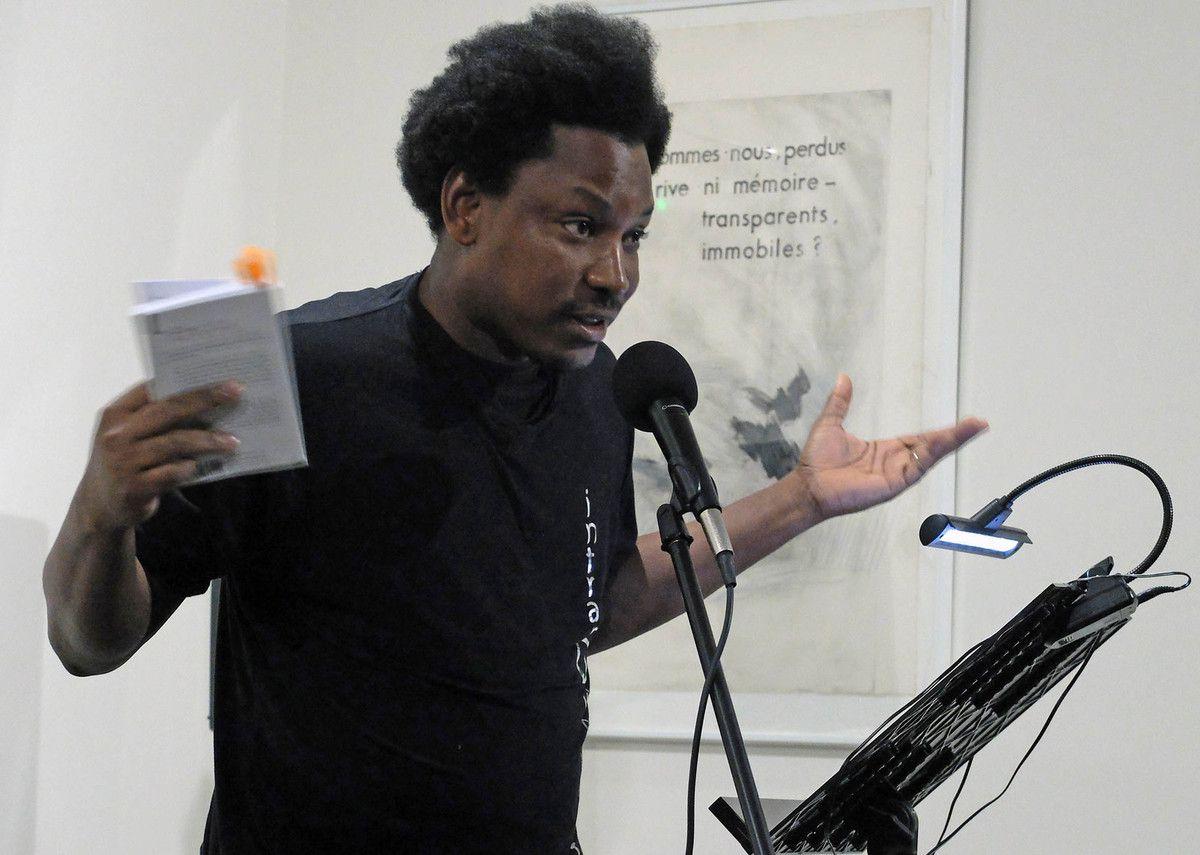James NOEL parrain du Printemps des poètes à Montpellier