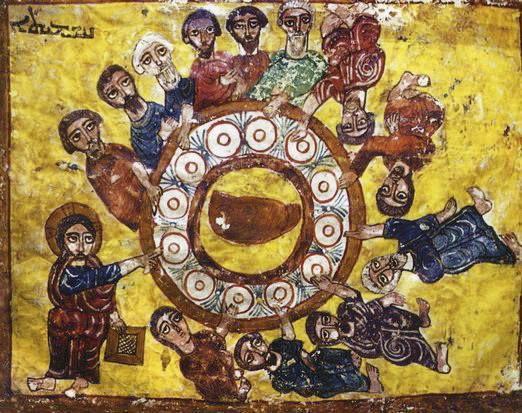 « &quot&#x3B;Si quelqu'un mange de ce pain, il vivra éternellement&quot&#x3B; (St Colomban)
