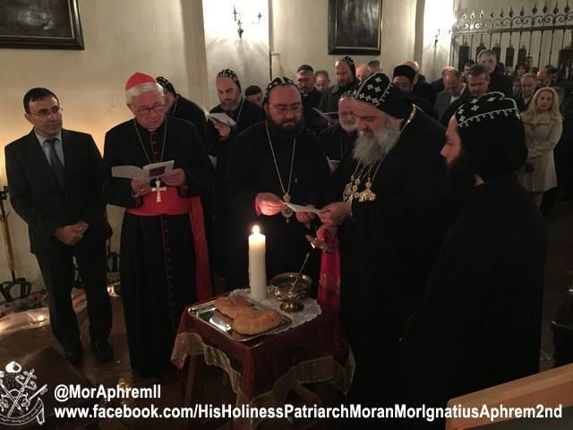 Source des informations:Facebook:His Holiness Patriarch Moran Mor Ignatius Aphrem II