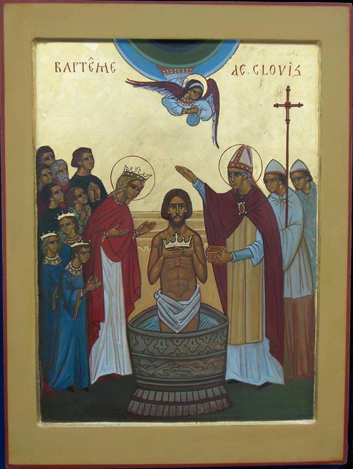 De Sa main vivifiante le Seigneur Source-de-Vie, / le Christ notre Dieu, / a fait surgir tous les morts des ténèbres de l'Enfer, / accordant la résurrection à tout le genre humain; / Il est vraiment notre Sauveur, / notre Vie, notre Résurrection et le Dieu de l'univers. Ikos Ta Croix, Ta Sépulture, Source de Vie, / fidèlement nous les chantons et devant elles nous prosternons, / car Tu as enchaîné l'Enfer, Seigneur immortel, / et comme Dieu Tout-puissant ressuscitas les morts avec Toi; / Tu brisas les portes de l'Hadès / et détruisis l'empire de la mort. / Nous les mortels, nous Te chantons avec amour, / Toi qui, ressuscitant, brisas la force de l'ennemi funeste; / tous ceux qui croient en Toi, Tu les as ressuscités, / Tu délivras le monde des traits du Serpent; / en Ton unique puissance, Seigneur, / Tu nous as libérés de l'ennemi nous égarant; / c'est pourquoi nous chantons pieusement / Ta Résurrection qui nous sauve, ô Dieu de l'univers.
