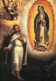 « O Mère tendre et aimante, Vierge très prudente qui êtes la Mère de mon Rédempteur, je viens Vous saluer en ce jour avec l'amour le plus filial dont puisse Vous aimer le cœur d'un enfant. Oui, je suis votre enfant et, parce que mon impuissance est si grande, je prendrai les ardeurs du Cœur de votre divin Fils &#x3B; avec Lui, je Vous saluerai comme la plus pure des créatures, car Vous avez été formée selon les désirs et les attraits du Dieu trois fois Saint ! Conçue sans la tache du péché originel, exempte de toute corruption, Vous avez été toujours fidèle aux mouvements de la grâce et votre âme accumulait ainsi de tels mérites, qu'elle s'est élevée au-dessus de toutes les créatures. Choisie pour être la Mère de Jésus-Christ, Vous L'avez gardé comme en un sanctuaire très pur et Celui qui venait donner la vie aux âmes, a pris Lui-même la vie en Vous et a reçu de Vous son aliment. O Vierge incomparable ! Vierge Immaculée ! Délices de la Trinité bienheureuse ! Admirée des anges et des saints, Vous êtes la joie des cieux ! Étoile du matin, Rosier fleuri du printemps, Lys très blanc, Iris svelte et gracieux, Violette parfumée. Jardin cultivé et réservé pour les délices du Roi des cieux !... Vous êtes ma Mère, Vierge très prudente, Arche précieuse où s'enferment toutes les vertus ! Vous êtes ma Mère, Vierge très puissante, Vierge clémente, Vierge fidèle ! Vous êtes ma Mère, Refuge des pécheurs ! Je Vous salue et je me réjouis à la vue de tels dons que Vous a fait le Tout-Puissant et de tant de prérogatives dont Il Vous a couronnée. Soyez bénie et louée, Mère de mon Rédempteur, Mère des pauvres pécheurs ! Ayez pitié de nous et couvrez-nous de votre maternelle protection. Je Vous salue au nom de tous les hommes, de tous les saints et de tous les anges. Je voudrais Vous aimer avec l'amour et les ardeurs des séraphins les plus embrasés, et c'est encore trop peu pour rassasier mes désirs... et Vous rendre éternellement une louange filiale, constante et très pure. O Vierge inc